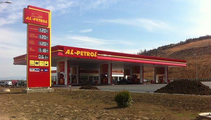 Izvedba na benzinska pumba Alpetrol Pristina 1