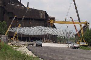 Proektiranje i izvedba na Mital Steel factory 2