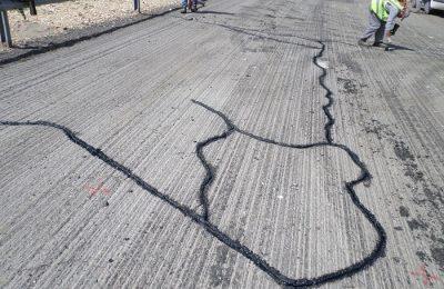 asfaltni puknatini